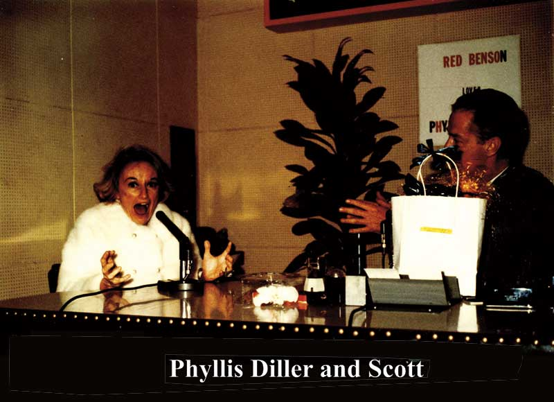 alan with comedianne phyllis diller