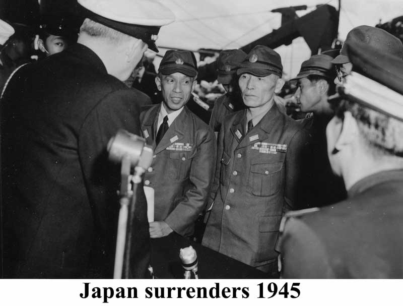 broadcasting the surrender of japan